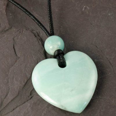 Amazonite-Flat-Heart