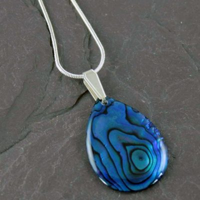 Abalone-Teardrop-Necklace