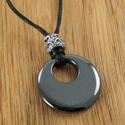 Hematite-Round-&-Bead