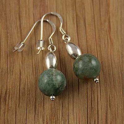 Green-Moss-Agate-Bead