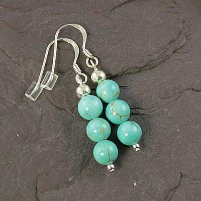 Turquoise-Triple-Bead