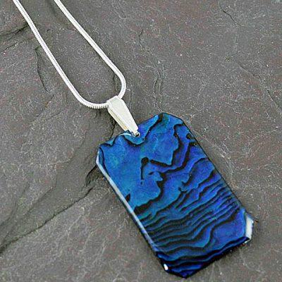 Abalone-Oblong-Pendant