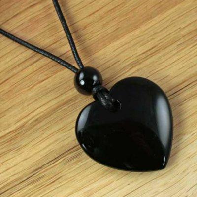Black-Agate-Heart
