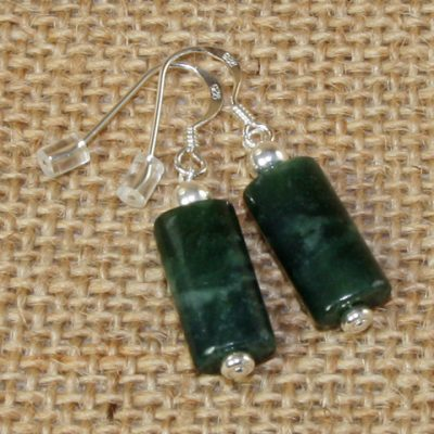 Jade Pillow Earrings