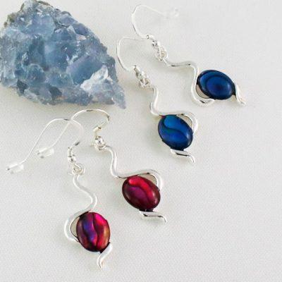 Abalone-Wiggle-Earrings