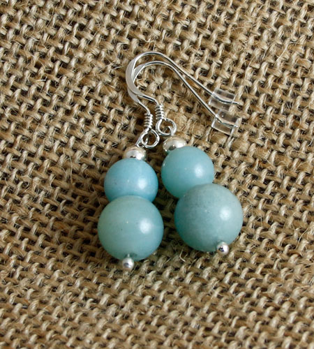 Amazonite-Double-Bead