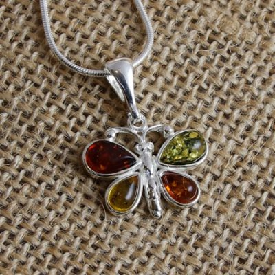 Amber-Butterfly-Pendant