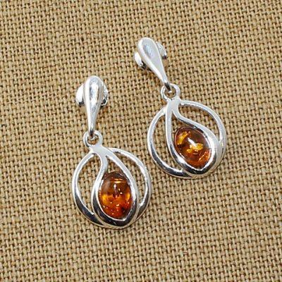 Amber-drop-studs-