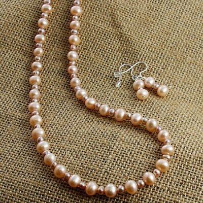 Apricot-pearls