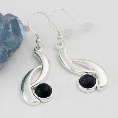 Blue-Goldstone-Wave-Earrings