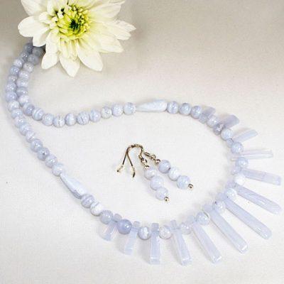 Blue-Lace-Agate-Necklace-Set