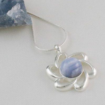 Blue-Lace-Flower-Pendant