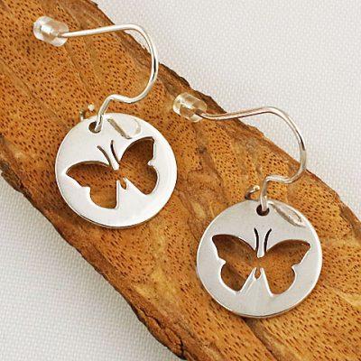 Butterfly-Disc-Earrings
