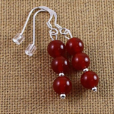 Carnelian-Tripple-bead