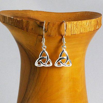 Celtic-Triangle-Earrings