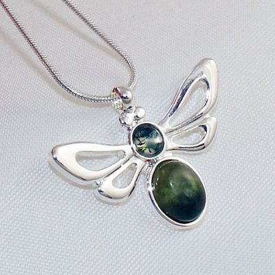 Green-Moss-Bee-Pendant