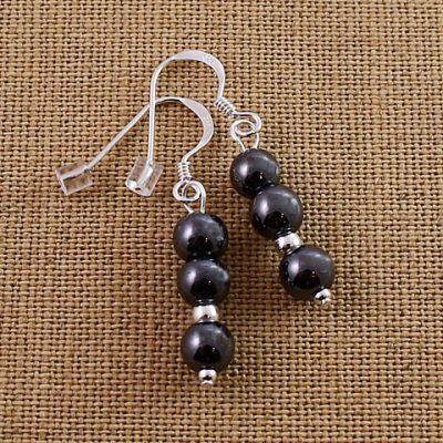 Hematite-Triple-Bead