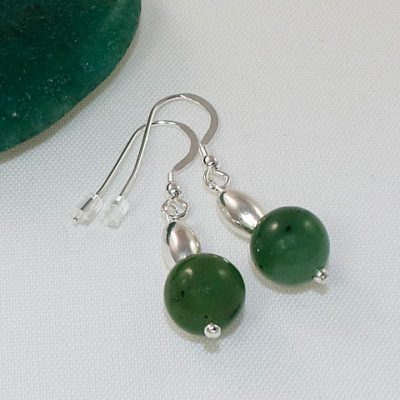 Jade-Bead-Earrings