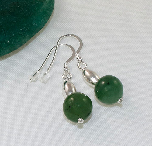 Jade-Bead-Earrings