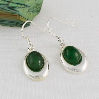 Jade-Oval-Offset-Earrings