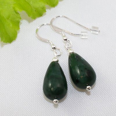Jade Peardrop Earrings