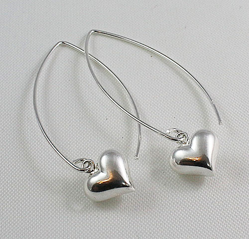 Long Wire Puff Heart