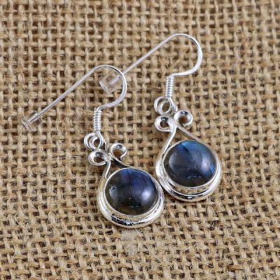 Labradorite-earrings