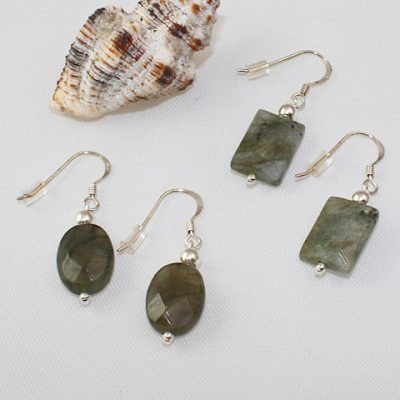 Labradorite-faceted