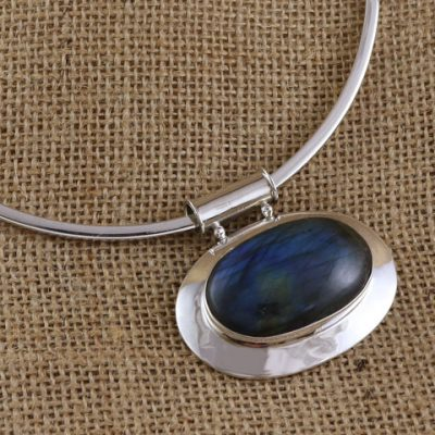 Labradorite-on-Choker