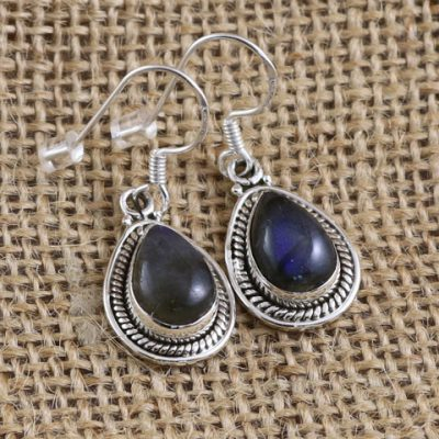 Labradorite-teardrop-earrings
