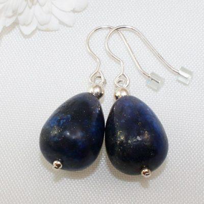 Lapis Lazuli Peardrop Earrings