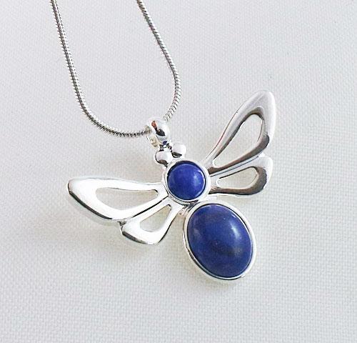 Lapis-Lazuli-Bee-Pendant