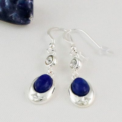 Lapis-Lazuli-Crystal-Accent-Earrings