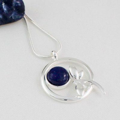 Lapis-Lazuli-Dragonfly-Pendant