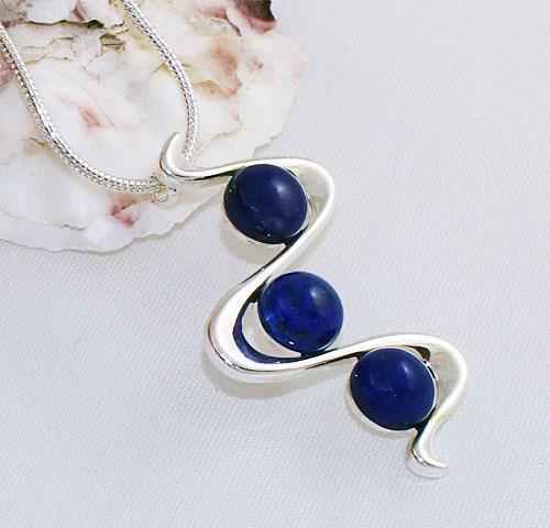 Lapis-Lazuli-Zigzag-Pendant