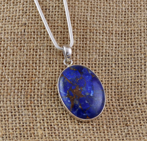 lapis boylerpf sterling silver pendant lazuli products statement necklace