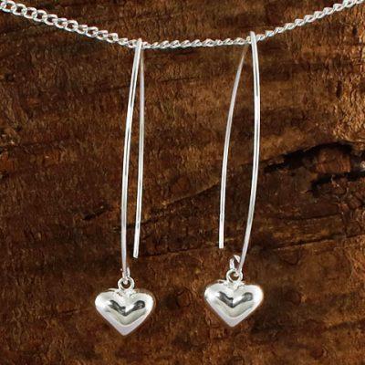 Long-Wire-Puff-Heart-Earrings