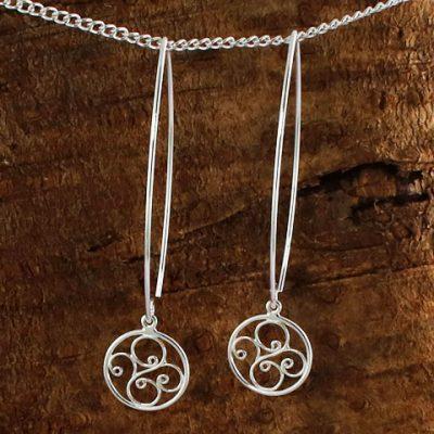 Long-Wire-Swirl-Earrings