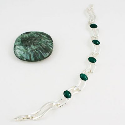 Malachite-Five-Stone-Bracelet