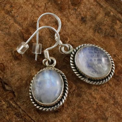 Moonstone-Rope-Edge-Earrings