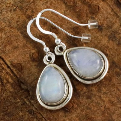 Moonstone-Simple-Teardrop-Earrings