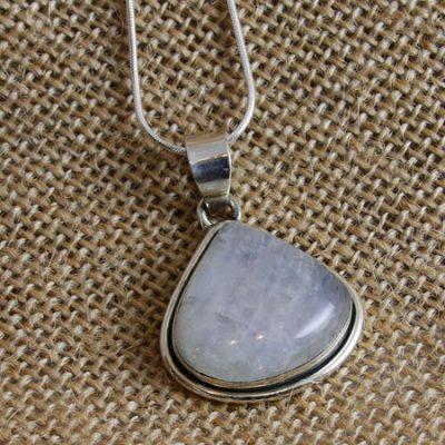 Moonstone-triangle-pendant
