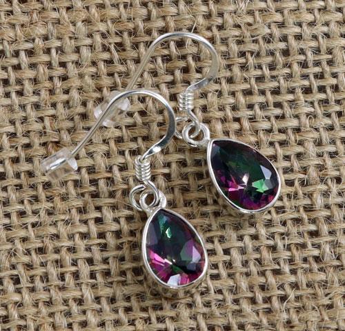 Mystic Topaz Teardrop Earrings