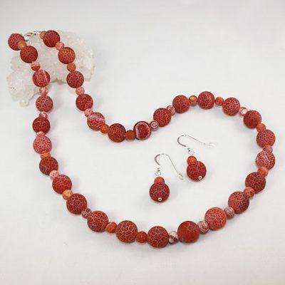 Orange-Cracked-Agate-set