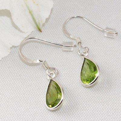 Peridot-Small-Peardrop-Earrings