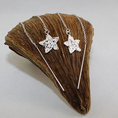 Star Pull Through Earrings