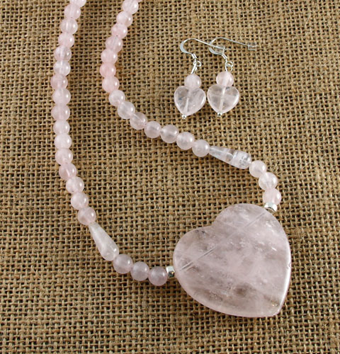 Rose-Heart-and-Bead-set