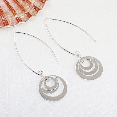 Sterling-Silver-Circles-Earrings