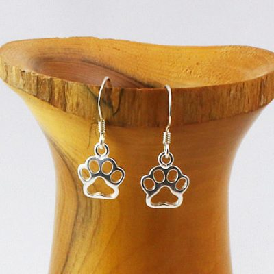 Sterling-Silver-Paws-Earrings