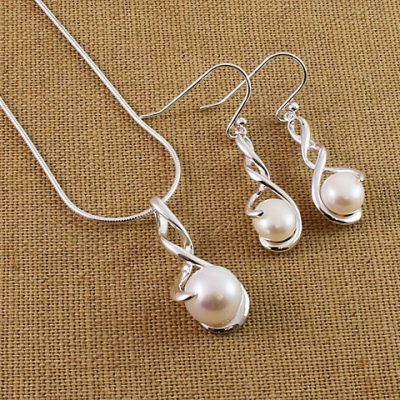 Sterling-Silver-Pearl-Twist-Set